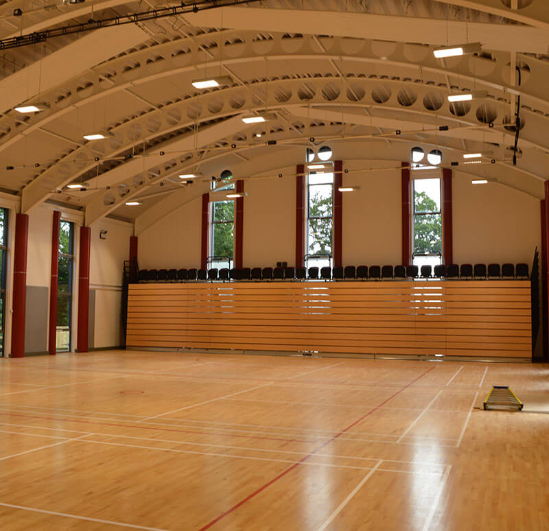 Monor Lodge School - sports hall case study