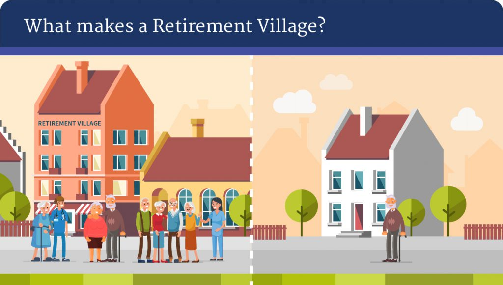 what are retirement villages
