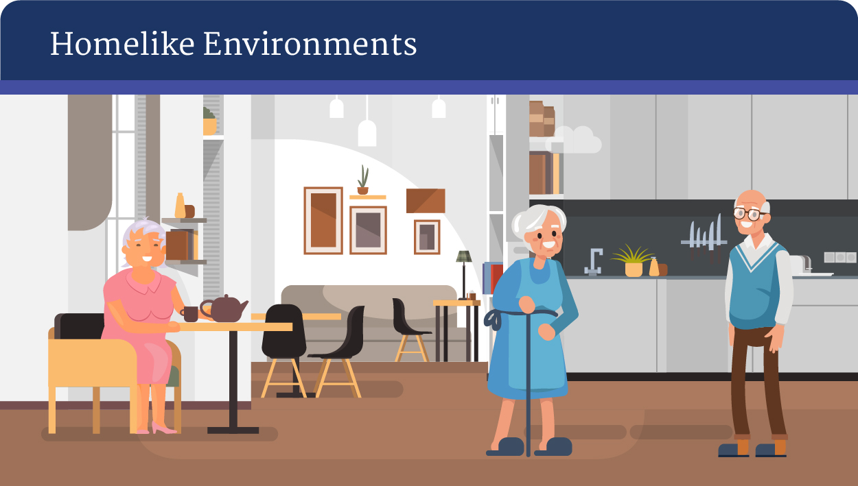 Unique characteristics of care home builds - Homelike Environments